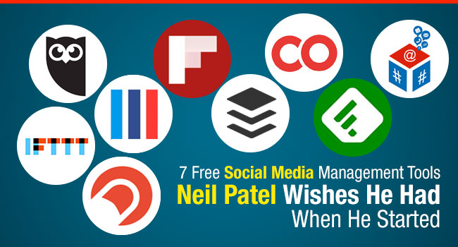 7 Free Social Media Management Tools Neil Patel Wishes He Had When He Started